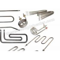 Buy cheap 6.6mm ~ 25mm Diameter Stainless Steel Formed Tubular Heating Elements from wholesalers