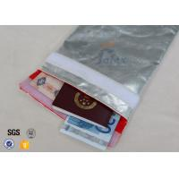 Buy cheap Glass Fibre Fabric Fire Resistant Document Holders Large Size 28 x 38cm from wholesalers