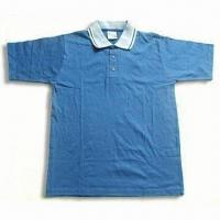 Buy cheap Men's Promotional Plain Polo Shirt, Available in Various Colors from wholesalers
