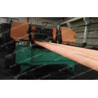 Buy cheap 100mm Red Copper Pipes Continuous Casting Plant , Horizontal Casting Machine product