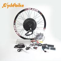 Buy cheap 72v 3000w Electric Bicycle 700c Hub Motor Wheel Kit With Sine Wave Controller from wholesalers