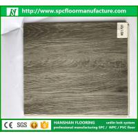 Wholesale EIR Handscraped 100% Virgin Material PVC Vinyl Interlock Flooring Tiles with wood design from china suppliers