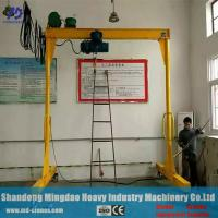 Buy cheap In Workshop Movable Portable Mini Crane Lightweight China 0.5 Ton Gantry Crane from wholesalers
