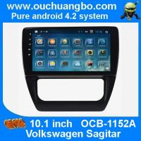 Buy cheap Ouchuangbo VW Sagitar atuoradio DVD gps navi android 4.2 big screen suupport 8G flash Quad-Core canbus from wholesalers