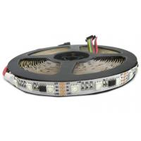 Buy cheap 5V / 12V Dimmable RGB LED Strip Lights , WS2818 IC Commercial Outdoor LED Rope Lights  from wholesalers