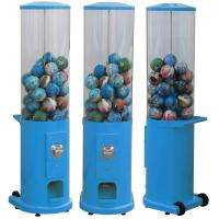 Buy cheap Metal Base Coin Operated Gumball Machine 44*38*146CM Customized Color from wholesalers