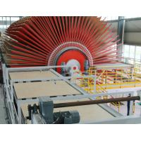 Buy cheap High Efficiency OSB Manufacturing Equipment , Hot Press Plywood Machine  4 * 16 Feet from wholesalers