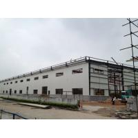 Buy cheap Light Type Steel Structure Warehouse , Customized Prefab Metal Buildings from wholesalers