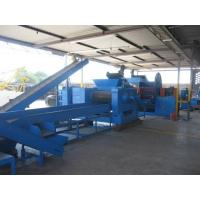 Wholesale 4kw Waste Tire Recycling Plant Tyre Crushing Machine 10 - 100 Mesh from china suppliers