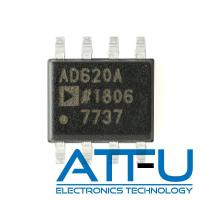 Buy cheap Low Power Amplifier IC Chip Small Footprint Design AD620ARZ-REEL7 With External Resistor from wholesalers