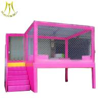 Buy cheap Hansel children soft game indoor wooden playhouse indoor playhouse with slide from wholesalers