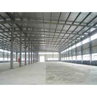 Buy cheap Prefabricated Steel Structure Warehouse / Steel Prefab Buildings Contractors from wholesalers