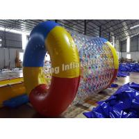 Buy cheap Crazy Fun Airtight 0.8mm PVC / TPU Blow Up Water Rolling Toy For Swimming Pool from wholesalers