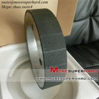 Buy cheap Vitrified bond CBN grinding wheel for crankshaft and camshaft from wholesalers