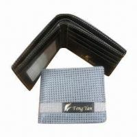 Wholesale Women's PVC Wallet with Silk-screen Logo, Available in Various Colors, Sized 9 x 11.5 x 1.5cm from china suppliers