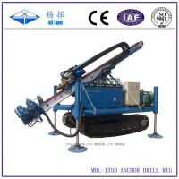 Buy cheap Hydraulic Power Head Anchor Drilling Rig , Jet Grouting Drilling MDL - 135D from wholesalers