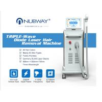 Buy cheap Nubway professional best painless high technology 808 soprano diode laser hair removal beauty Machine with big spot from wholesalers