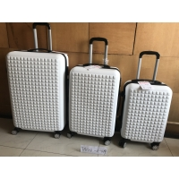 Wholesale Hardside Spinner Wheels  ABS Hard Luggage Reinforced Soft Handle from china suppliers