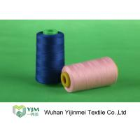 Wholesale Plastic Cone Dyed  Polyester Industrial Sewing Machine Thread For Textile / Garment from china suppliers