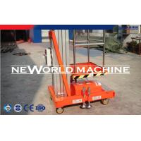 Buy cheap 18m Mast Climbing Powered Access Platforms Aerial Lift Equipment from wholesalers