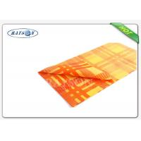 Fancy 38-75 Gsm Weight Colorful Printing Square  Tnt Table Cover Exported to Italy Manufactures