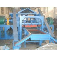 High Effiiciency Tire Recycling Machine With Electronic Belt Magnetic Separator