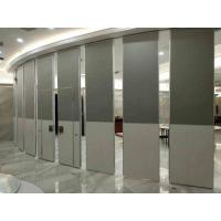 Wholesale Nature Wood Veneer Finish  Acoustic Aluminum Frame100MM Thickness Movable Partition Wall from china suppliers