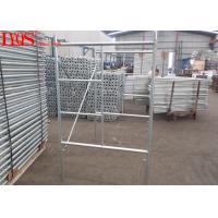 Size 3'×4' Ladder Frame Scaffolding 3'×4' Standard Sizes For Construction