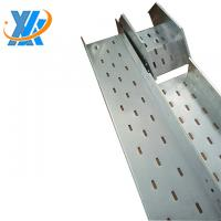 Buy cheap high quality hot-dip galvanized cable trunking with cover,cable trunking manufacturer(width:50mm-1200mm) from wholesalers