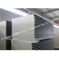 Buy cheap Heat and Sound Insulation PU Sandwich Panels Prefabricated Building Wall Panel from wholesalers