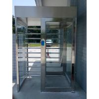 OEM Customized Stainless Steel  Pedestrian 2.3 Meter Full Height Turnstiles Rust Proof Manufactures