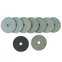 Buy cheap White Hexagon Dry Wet Quick Polishing Pads from wholesalers