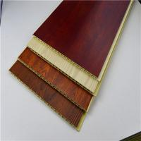 Wholesale Bamboo Integrated WPC Wall Panel , Polyvinyl Chloride Mix Wood Powder Board from china suppliers