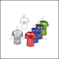 Buy cheap Hot Sale Eco Portable promotional fold T shirt Shape water bottle cup drinkware gift from wholesalers
