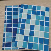 Buy cheap PVC Swimming Pool Liner, Thickness 1.5mm, Blue, Mosaic, Reinforced with Fabric, Heating Weldable, manufacturer, factory from wholesalers