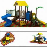 Buy cheap School Commercial Playground Equipment with Stainless Steel Screw, Measuring 646 x 640 x 355cm from wholesalers