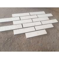 M36400 White Color Clay Face Wall Brick Long Life Thin Brick Veneer ISO Approval Manufactures