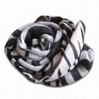 Wholesale Narrow Scarf in Stripe Pattern, Made of Jacquard, Fashionable Design from china suppliers