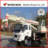 Buy cheap wolwa brand 8 ton crane price hydraulic crane for sale from wholesalers