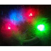 Buy cheap PVC, ABS 2R1B1G Flashing White Feather Blinky Bracelets For Promotion Gift from wholesalers