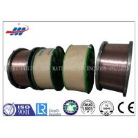 Wholesale High Carbon Copper Coated Steel Wire For Brush / Rubber Tube , 0.78-1.65 Wire Gauge from china suppliers