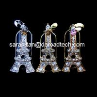 Buy cheap Customized Jewelry Tower Shaped USB Flash Disks, 100% Original New Memory Chip from wholesalers