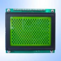 Buy cheap High-Efficiency STN Yellow Green 128 x 64 Pixels Graphics LCD Module with LED Backlight from wholesalers