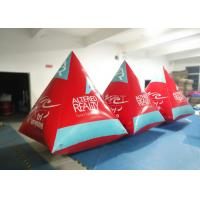 Wholesale Safety Red Pyramid Water Buoy Markers Customized Size EN14960 Approved from china suppliers