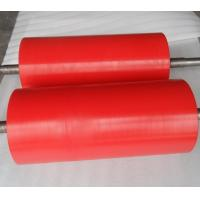 Buy cheap High Anti Abrasion Industrial Red Polyurethane Roller Coating, Polyurethane Rollers from wholesalers