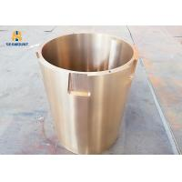 Buy cheap Tin Bronze Eccentric Bushing Crusher Machine Spare Parts For Ore Mining from wholesalers