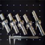 Buy cheap Wet Spray Boron Carbide Blasting Nozzle , B4C Soda Blaster Nozzle from wholesalers