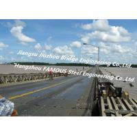 Wholesale Long Distance City River Crossing Bridge Pre-assembled Multi Span Steel Bailey Construction from china suppliers