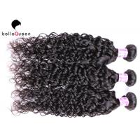 Buy cheap Pure Color 6a Remy Hair Bouncy Curl Human Hair Weaving , Long Lasting from wholesalers