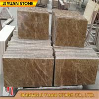 Buy cheap Spain Marble Stone Slab Light Emperador Tiles For Flooring , Wall Panel from wholesalers